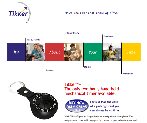 Tikker Timer Website