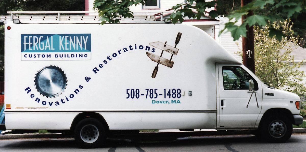 Fergal Kenny Truck Signage