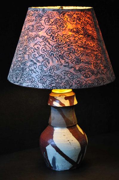 Raku-Lamp1