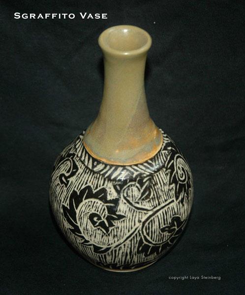 Sgraffito-Vase