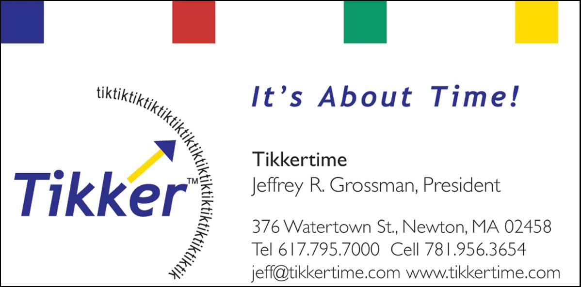 Tikker Business Card