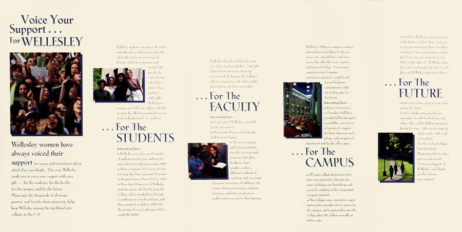 Wellesley College Brochure